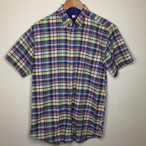 Tommy Hilfiger Plaid Shirt Men's Sz XL EUC